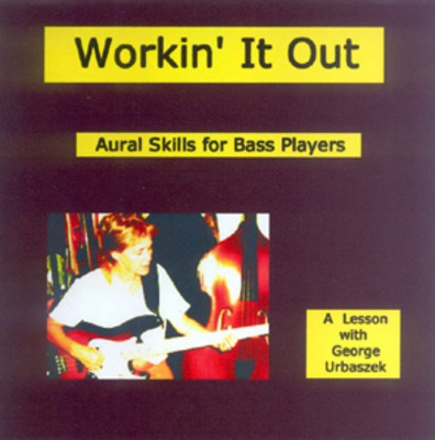 Product picture Working It Out - Aural Skills for Bass Players - Level I
